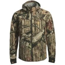 Browning Hydro-Fleece Soft Shell Jacket - Waterproof (For Big Men) in Mossy Oak Brek Up Infinity - Closeouts