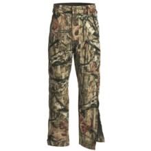 Browning Hydro-Fleece Soft Shell Pants - Waterproof (For Big Men) in Mossy Oak Brek Up Infinity - Closeouts