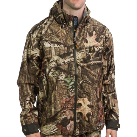 Browning Illusion HMX Soft Shell Jacket - Waterproof (For Men) in Mossy Oak Break-Up Infinity