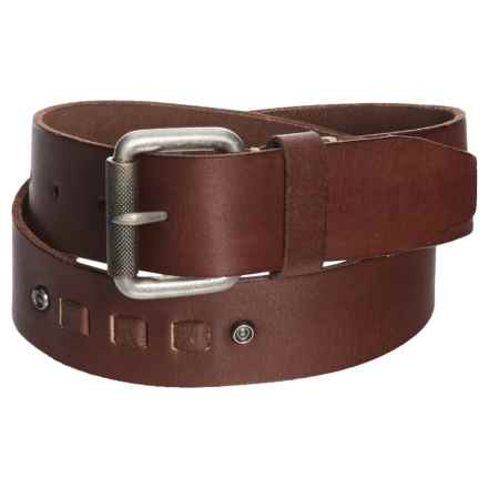 Browning Kanab Leather Belt (For Women) in Brown - Closeouts