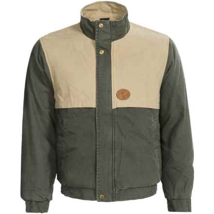 Browning Lyons Hunt Gear Jacket - Cotton Canvas (For Men) in Sage/Wheat - Closeouts
