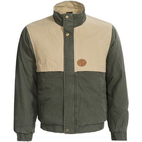 Browning Lyons Hunt Gear Jacket - Cotton Canvas (For Men) in Sage/Wheat