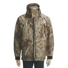Browning Maxus HMX Waterfowl Jacket - Waterproof (For Big Men) in Mossy Oak Duck Blind - Closeouts