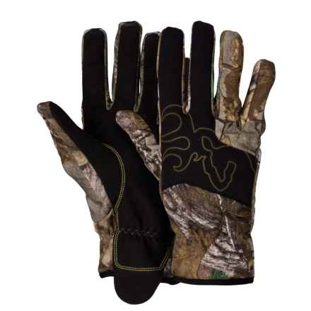 Browning Mercury Gloves (For Men) in Realtree Xtra - Closeouts