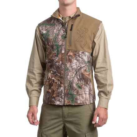 Browning Mercury Vest (For Men and Big Men) in Realtree Xtra - Closeouts