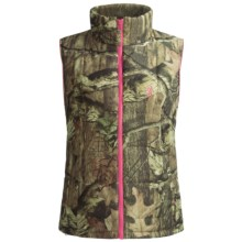 Browning Montana Camo Vest - Insulated (For Women) in Mossy Oak Infinity/Pink - Closeouts