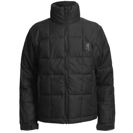 Browning Montana Jacket - Insulated (For Kids and Youth) in Black