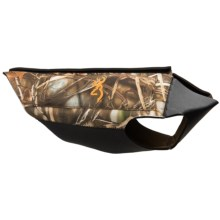 Browning Neoprene Dog Vest in Realtree Max 4 - Closeouts