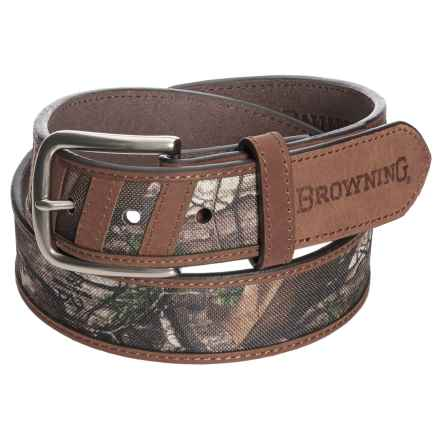 Browning Ouray Belt (For Men) in Mossy Oak/Bracken - Closeouts