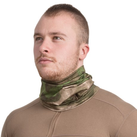 Browning Phase Fleece Neck Gaiter (For Men and Women) in Foliage/Green