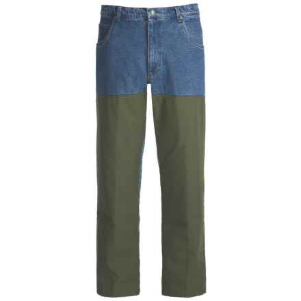 Browning Pheasants Forever Upland Hunting Jeans - Overlays (For Men) in Denim/Olive - Closeouts