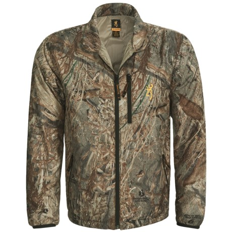 Browning PrimaLoft® Liner Jacket - Insulated (For Men) in Mossy Oak Duck Blind