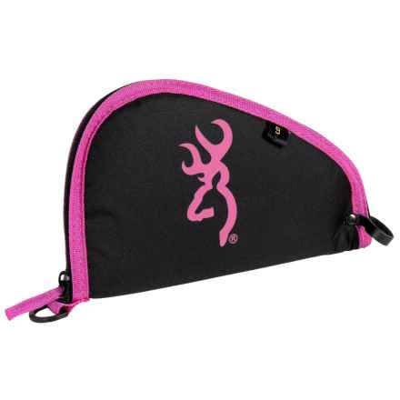 "Browning Pure Buckmark Pistol Rug - 9"" in Fuschia - Closeouts"