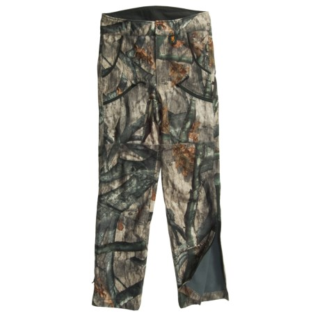 Browning Quest Gore-Tex® Soft Shell Hunting Pants (For Big and Tall Men) in Mossy Oak Treestand