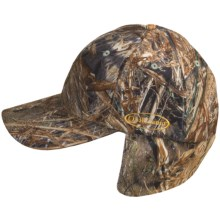 Browning Quik Camo Face Mask Cap in Mossy Oak Duck Blind - Closeouts