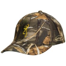 Browning Quik Camo Face Mask Cap in Realtree Max 4 - Closeouts