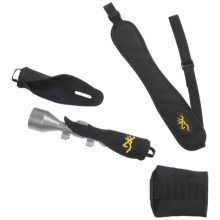 Browning Rifleman's Kit - Sling, Scope Cover, Buttstock Cover in See Photo - Closeouts