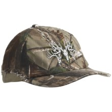 Browning Rugged Bucks Ball Cap (For Men and Women) in Realtree Ap/Khaki - Closeouts