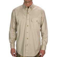 Browning Shooter Shirt - Long Sleeve (For Men) in Sand - Closeouts