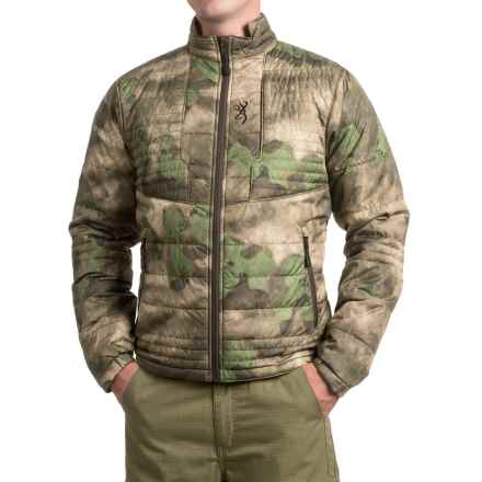 Browning Speed Shrike PrimaLoft® Jacket - Insulated (For Men and Big Men) in Foliage/Green - Closeouts