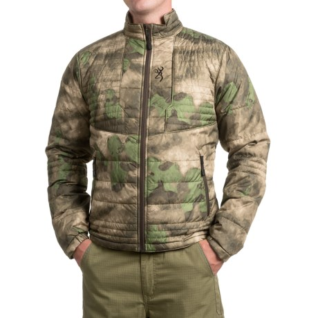 Browning Speed Shrike PrimaLoft® Jacket - Insulated (For Men and Big Men) in Foliage/Green