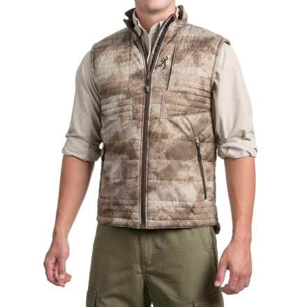 Browning Speed Shrike PrimaLoft® Vest - Insulated (For Men and Big Men) in Arid/Urban - Closeouts