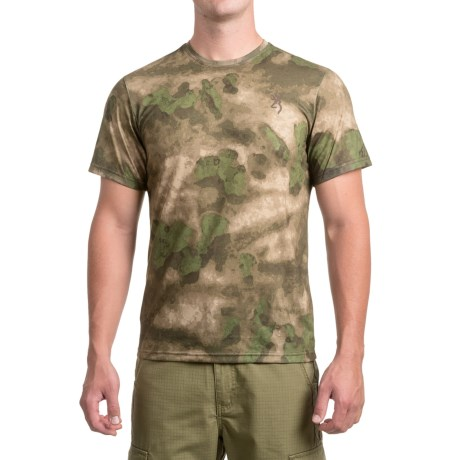 Browning Speed T-Shirt - Short Sleeve (For Men and Big Men) in Foliage/Green
