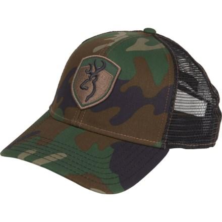 e127ea099cf600 Browning Stealth Baseball Cap (For Men) in Camo Green