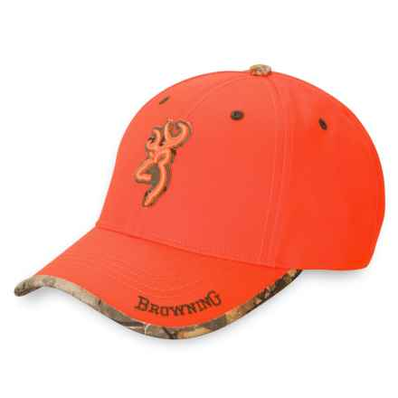 Browning Sure Shot Baseball Cap (For Men) in Blaze - Closeouts