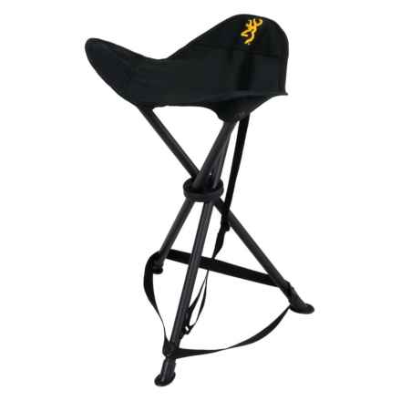 Browning Tri-Leg XT Packable Stool in Black - Closeouts