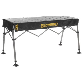 Browning Trophy Portable Table in Black