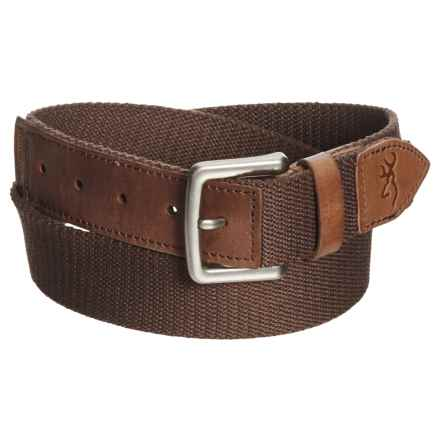 Browning Upland Belt (For Men) in Bracken - Closeouts