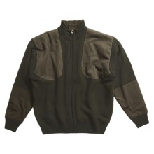 Browning Upland Sweater - Full Zip (For Men) in Loden - Closeouts