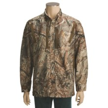 Browning Warm Front Shirt - Long Sleeve (For Big Men) in Mossy Oak Duck Blind - Closeouts