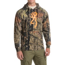 Browning Wasatch Buckmark Hoodie (For Big Men) in Mossy Oak Break-Up Country - Closeouts