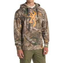 Browning Wasatch Buckmark Hoodie (For Men) in Realtree Xtra - Closeouts