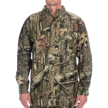 Browning Wasatch Camo Shirt - Cotton Chamois, Long Sleeve (For Men) in Mossy Oak Infinity - Closeouts