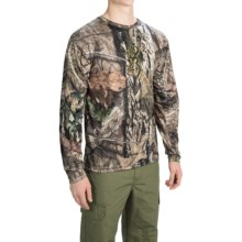 Browning Wasatch Jersey Shirt - Long Sleeve (For Men) in Mossy Oak Break Up Country - Closeouts