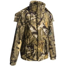 Browning Wasatch Junior Rain Parka - Waterproof, Insulated (For Kids and Youth) in Mossy Oak Infinity - Closeouts