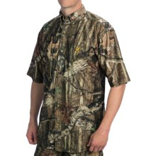 Browning Wasatch Mesh Lite Shirt - Short Sleeve (For Men) in Mossy Oak Infinity - Closeouts