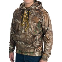 Browning Wasatch Performance Fleece Hoodie Sweatshirt (For Men) in Realtree Xtra - Closeouts