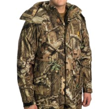 Browning Wasatch Rain Parka - Waterproof, Insulated (For Men) in Mossy Oak Infinity - Closeouts