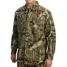 Browning Wasatch Shirt - Button-Down Collar, Long Sleeve (For Big Men) in Mossy Oak Infinity - Closeouts