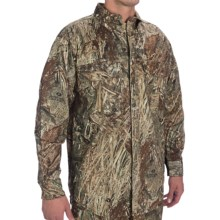 Browning Wasatch Shirt - Button-Down Collar, Long Sleeve (For Men) in Mossy Oak Duck Blind - Closeouts