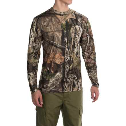 Browning Wasatch Vapor Max Shirt - Long Sleeve (For Big Men) in Mossy Oak Break-Up Country - Closeouts