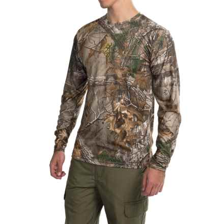 Browning Wasatch Vapor Max Shirt - Long Sleeve (For Big Men) in Realtree Xtra - Closeouts
