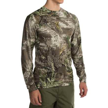 Browning Wasatch Vapor Max Shirt - Long Sleeve (For Men) in Realtree Max 1 - Closeouts