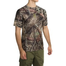 Browning Wasatch Vapor Max Shirt - Short Sleeve (For Big Men) in Mossy Oak Break-Up Country - Closeouts
