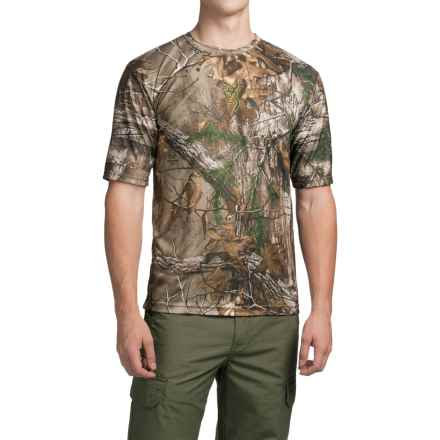 Browning Wasatch Vapor Max Shirt - Short Sleeve (For Men) in Realtree Xtra - Closeouts