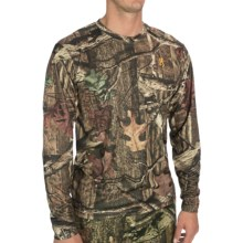 Browning Wasatch Vapor Max T-Shirt - Long Sleeve (For Men) in Mossy Oak Infinity - Closeouts